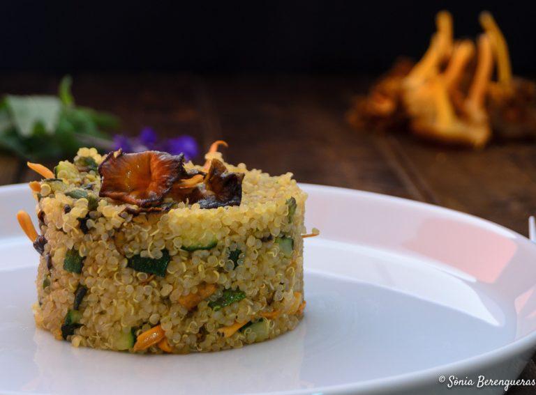 Quinoa amb camagrocs destacada