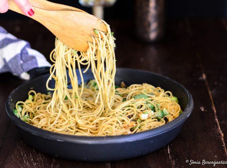 Espagueti integral destacada