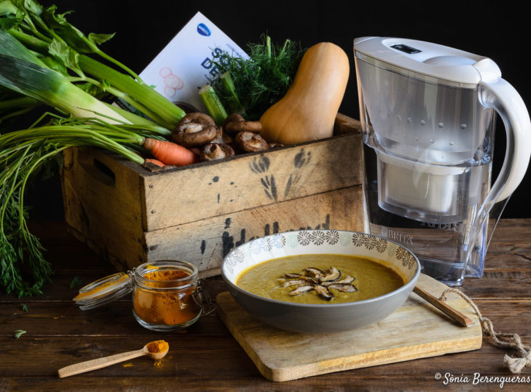 Crema de carbassa i shiitake-5